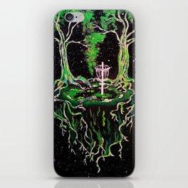 Swamp Discing iPhone Skin