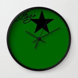 """""""Signed Blaze"""" by One Trick Pony Wall Clock"""
