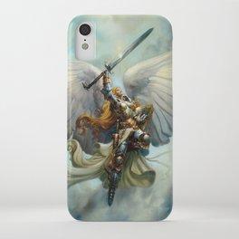 Serra Angel iPhone Case