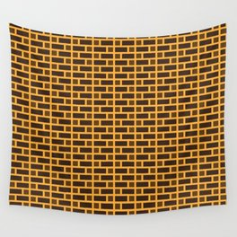 Brick (Orange, Dark Brown, and Light Brown) Wall Tapestry