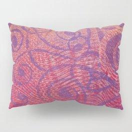 Gelatin Monoprint 2a Pillow Sham