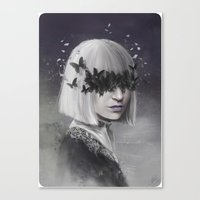 sia Canvas Prints featuring 100 Forms of Fear / Sia by Nicolas Jamonneau