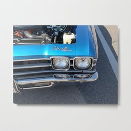 Blue Chevelle Metal Print