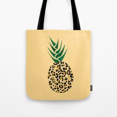 Leopard Pineapple Picture Tote Bag