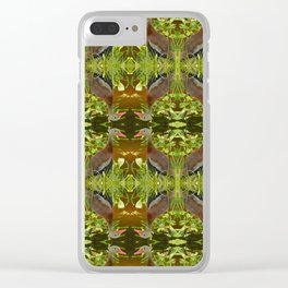 Whistling Duck Clear iPhone Case