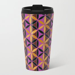 Flower of Life Pattern 13 Travel Mug