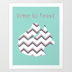 Time to Feast Art Print