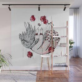 Dreaming pomegranate Wall Mural