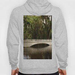 Beautiful White Magnolia Plantation Bridge Hoody