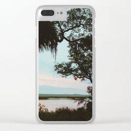 Cumberland Island Clear iPhone Case