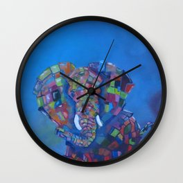 Alone in this Universe Wall Clock