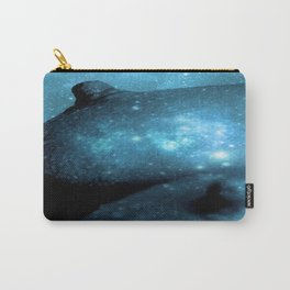 Teal Galaxy Breasts / Galaxy Boobs Carry-All Pouch