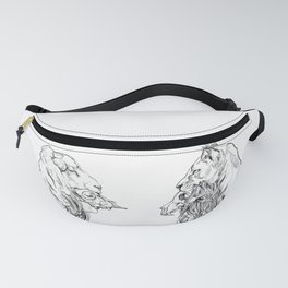 The Lion and The Lamb Fanny Pack