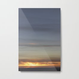 Sunset over Pictou County Metal Print