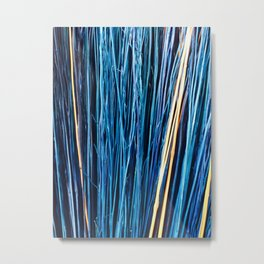 Blue Brushwood Photography Metal Print