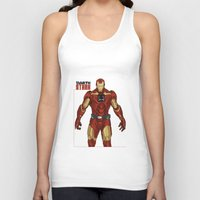 stark Tank Tops featuring Darth Stark by Firepower