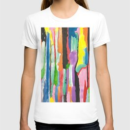 Colours Abstract T-shirt