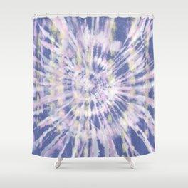 Indigo Tie-Dye Shower Curtain