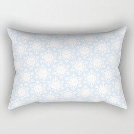 Kawaii Winter Snowflakes Rectangular Pillow