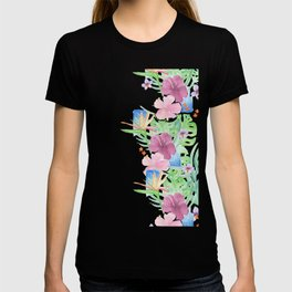 Malia's Tropical Print T-shirt