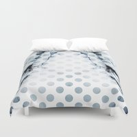dots Duvet Covers featuring DOTS by ED design for fun