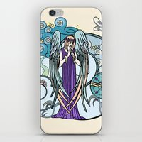 literary iPhone & iPod Skins featuring Angel of Clouds by DebS Digs Photo Art