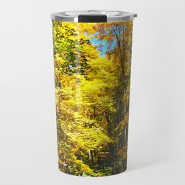 Dry Autumn River Bed Travel Mug
