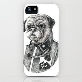 Mr. Pug iPhone Case