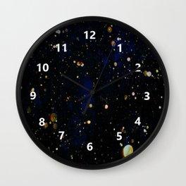 Glittered Snow Wall Clock
