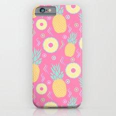 Pink Pinapple iPhone 6s Slim Case