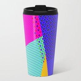 Colorblock - geometric minimal Travel Mug