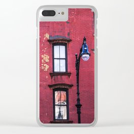 Greenwich Ave Clear iPhone Case