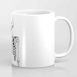 Rock and Roll Skeleton Coffee Mug