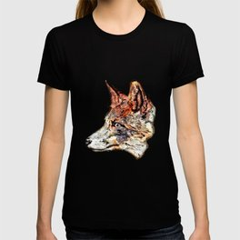 Space Fox no3 T-shirt