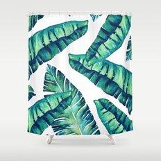 Tropical Glam #society6 #decor #buyart Shower Curtain