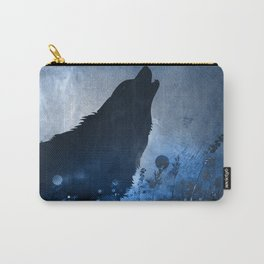 Twilight Wolf Carry-All Pouch