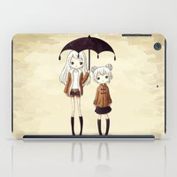 sisters iPad Cases featuring Sisters by Freeminds