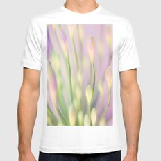 Lavender Nile Mens Fitted Tee White MEDIUM
