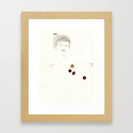 Fruit sleeping (passion fruit) Framed Art Print