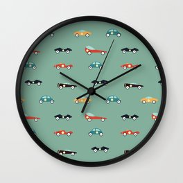 Racers Wall Clock