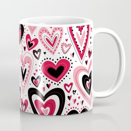 Lovely Hearts Coffee Mug