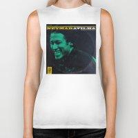 neymar Biker Tanks featuring LPFC: Neymar by James Campbell Taylor