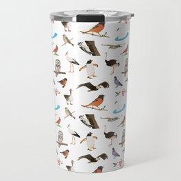 Various Birds Travel Mug