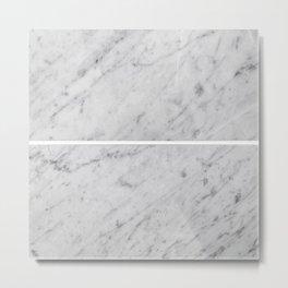 Gray Slabs of Granite Metal Print