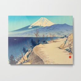 Tokuriki Tomikichiro 36 Views Of Fuji Japanese Woodblock Print Asian Historical Metal Print