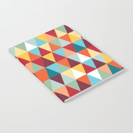 Geometric Color #abstract #bright #triangles Notebook