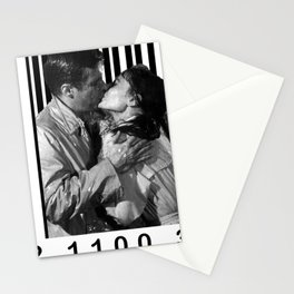 Breakfast Kiss in a Barcode Stationery Cards