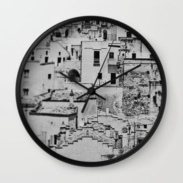 Matera Wall Clock