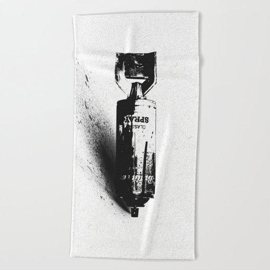 Weapon of Mass Creation Beach Towel