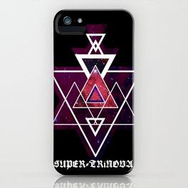 Tri-Supernova iPhone Case